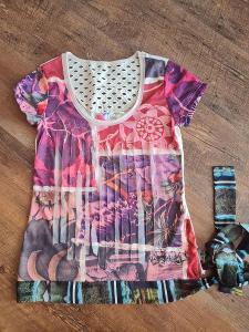 Krásné tričko Desigual vel. s