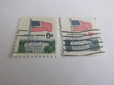 Prodávám známky USA 1971, Vlajky