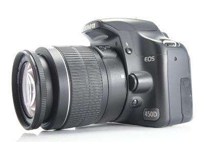 Canon EOS 450D + 18-55 mm III