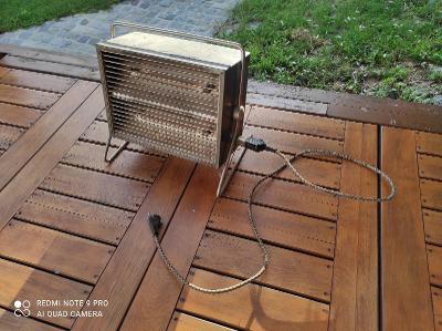 Starý elektrický teplomet / Funkční