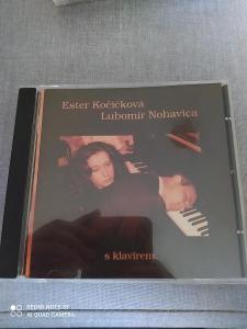 CD ESTER KOČIČKOVÁ - LUBOMÍR NOHAVICA s klavírem