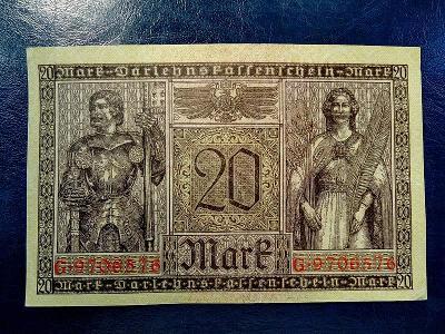 20 Mark 1918 UNC