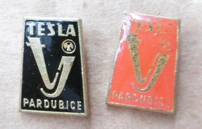 Odznaky sport hokej Tesla Pardubice