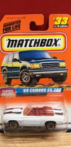MATCHBOX 1998 ´´ 69 CAMARO SS 396 ´´ #33