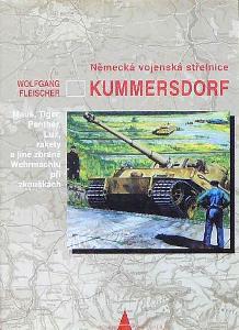 Německá vojenská střelnice Kummersdorf/zbraně Wehrmachtu při zkouškách