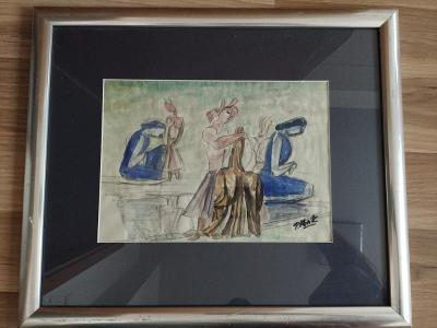 Obraz Pravoslav Kotík - Ženy při šití