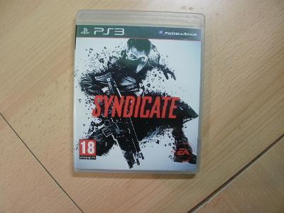 Hra na Ps 3 - Syndicate - Anglický manuál