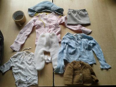 oblečky na panenku - VIZ FOTO
