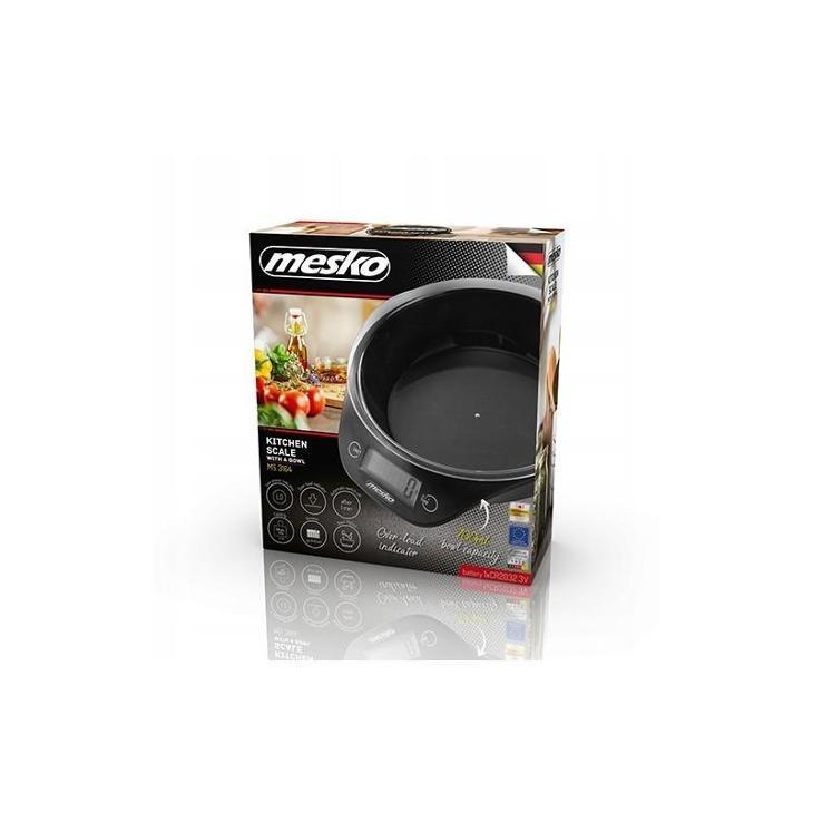 AGD32 Kuchyňská váha s miskou Mesko MS 3164  - Zařízení