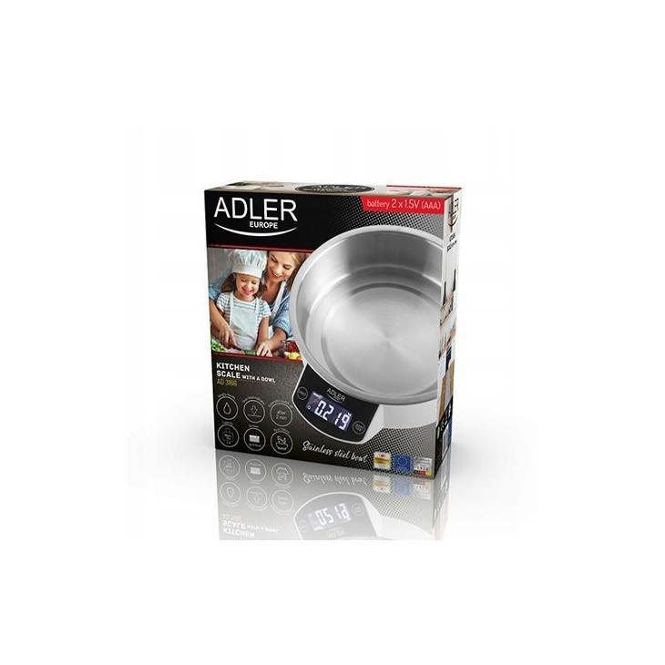 AG31 Kuchyňská váha s mísou Adler AD 3166  - Zařízení