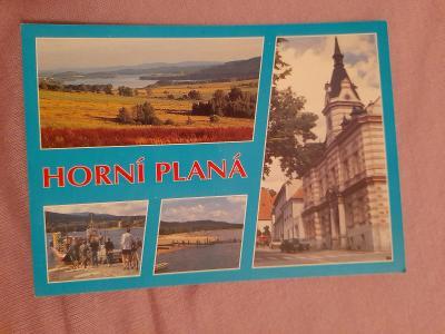 Pohlednice Horní Planá,prošlé poštou