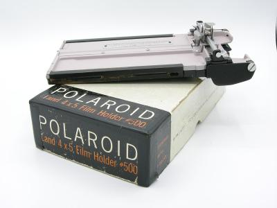 POLAROID Land 4x5 inch film holder 500