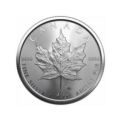 ❗1 oz Stříbrné investiční mince Maple Leaf Canada 2021 v kapsičce❗
