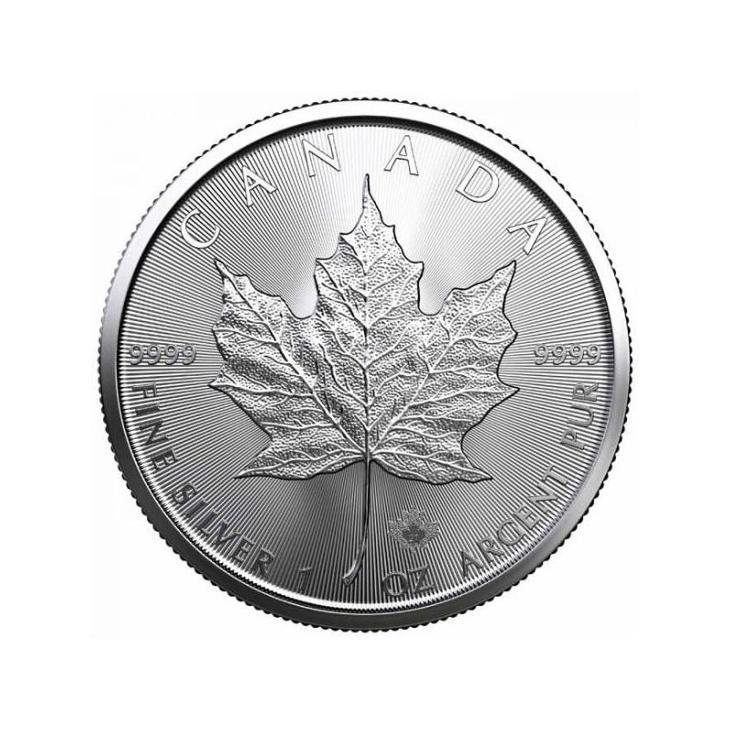 ❗1 oz Stříbrné investiční mince Maple Leaf Canada 2021 v kapsičce❗ - Numismatika