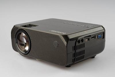 """Projektor BOMAKER černý/LED /720p /30""""-250"""" /4000 Lux /od 1Kč!"""