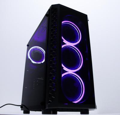 Herní PC RGB - Ryzen 5, 16GB RAM, GeForce GTX 1060, SSD 1.5TB- ZÁRUKA