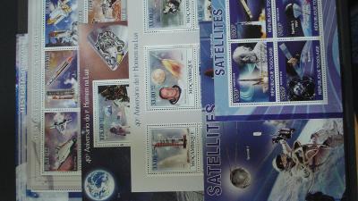 Mozambik - 3 x aršík + KLB kosmos ++