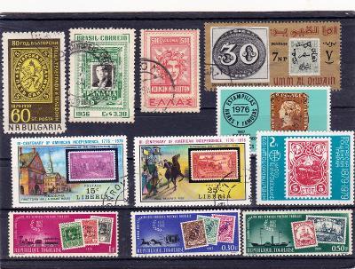 Známky na známkách - sestava