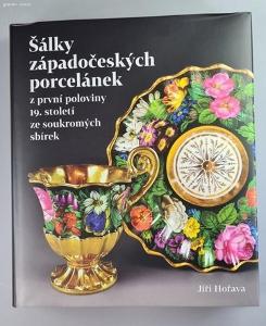 ŠÁLKY ČESKÝCH PORCELÁNEK-SLAVKOV+BŘEZOVÁ apod.- 300 stran, 173 šálků