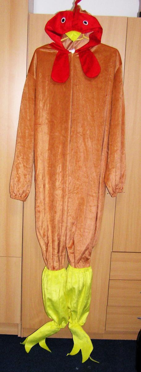 3944 SLEPICE - karnevalový kostým vel.S/M - Dámské oblečení