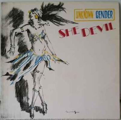 LP Unknown Gender - She Devil, 1986 EX