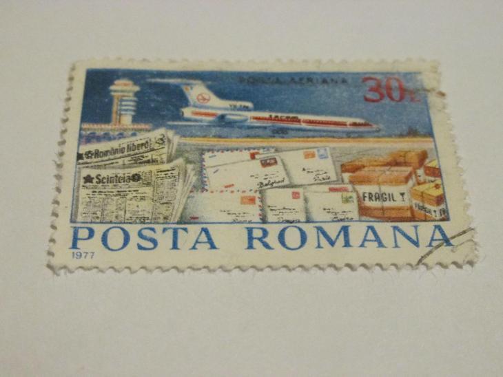 Prodávám známky Rumunsko 1977, Letectví - Letecká pošta - Filatelie