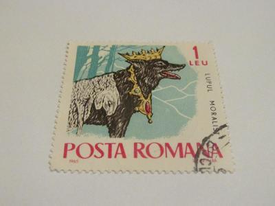 Prodávám známky Rumunsko 1965, Bajky a pohádky