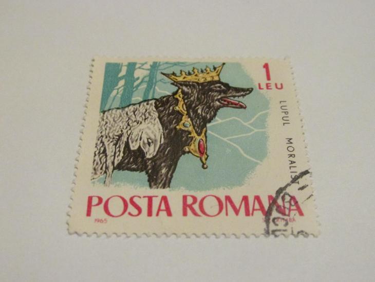 Prodávám známky Rumunsko 1965, Bajky a pohádky  - Filatelie