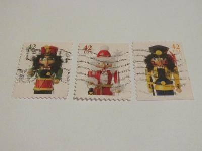 Prodávám známky USA 2008, Vánoce 2008