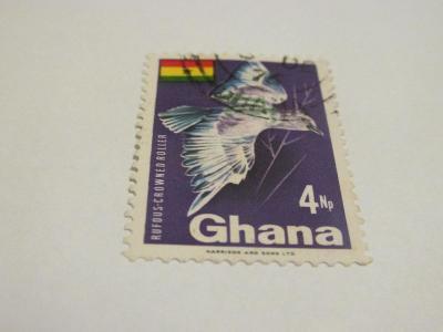 Prodávám známky Ghana 1969, Ptáci a vlajka