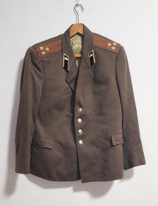 Uniforma. Armáda. Kabát. Důstojník.  SSSR. Rusko. BB4.