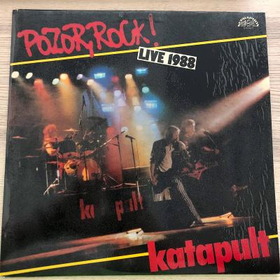 Katapult – Pozor, Rock! Live 1988 (SUPER STAV)