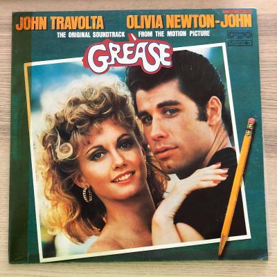 2 LP Grease (The Original Soundtrack From The Motion Picture)