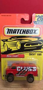 MATCHBOX 1997 ´´ CHEVY VAN ´´ #26