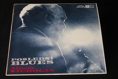 LP - Albert Nicholas - Poslední Blues (d15)