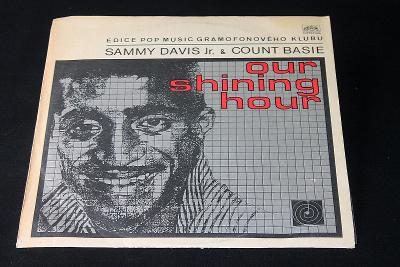 LP - Sammy Davis Jr. & Count Basie - Our Shining Hour (d15)