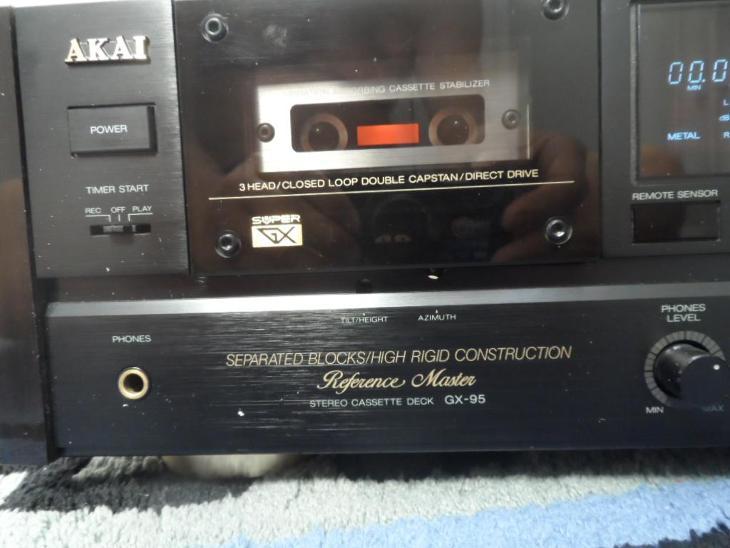 Kazetovy magnetofon  AKAI GX-95 + DO - TV, audio, video