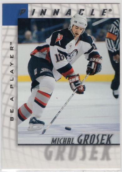 Michal GROŠEK - Be A Player 97-98 #187 * BUF - Sportovní sbírky