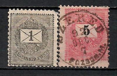 356 - Maďársko   1888 - 98,