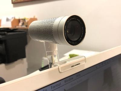 Apple iSight web-cam, 2003 - funkční