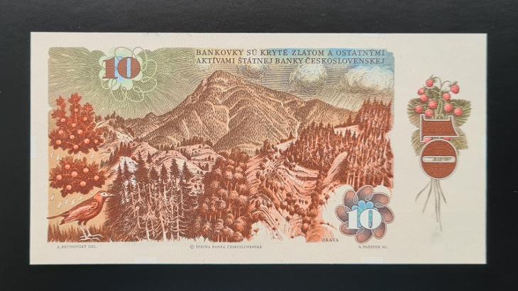 10 Kčs 1986, série J 11, stav UNC! - Bankovky