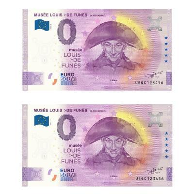 Louis de Funés 0 euro Funes 1ks+1ks Anniversary