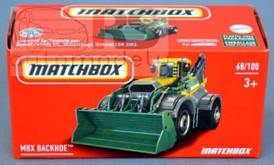 Matchbox Power Grab Backhoe Vehicle GXN83 - poštovné v popise