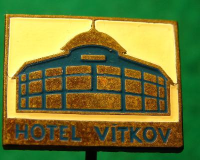 odznak/ HOTEL VÍTKOV /26C