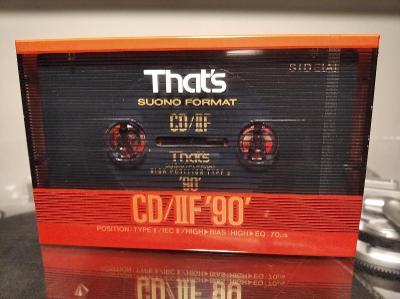 That's CD/IIF 90 (1990) audio kazeta
