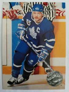 Wendel Clark #120 Toronto Maple Leafs 1991/1992 Pro Set Platinum