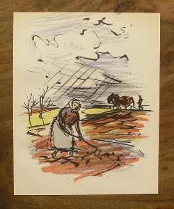 V.Sedláček - Orig. litografie - (G52)