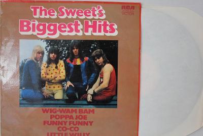 The Sweet – The Sweet's Biggest Hits LP 1972 vinyl Germany 1.press VG+