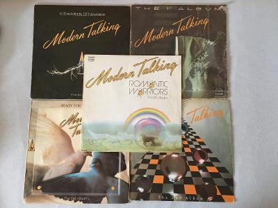 Modern Talking - 5 ALBUM SET LP (v popisku informace)