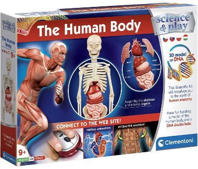 Clementoni Dětská laboratoř - Sada lidské tělo
